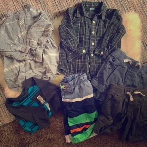 Lot of 3T and 4T boys clothes